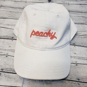 New York White 'Peachy' Hat